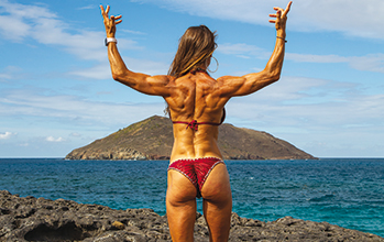 """Le fitness au quotidien… pour un corps de rêve <small class=""""subtitle"""">Rencontre avec Manuella Daguenet</small>"""